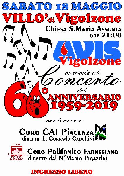 locandina concerto CAI